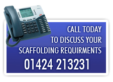 call advance scaffolding today